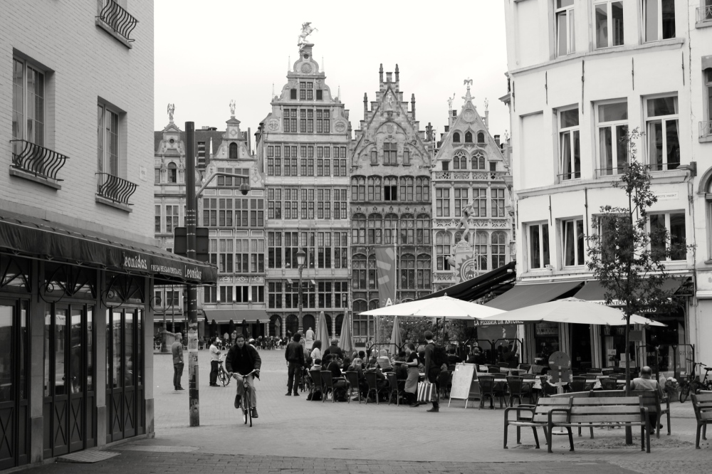 Antwerp, Summer 2014.