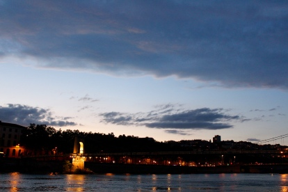 Un p'tit apéro sur les quais du Rhône